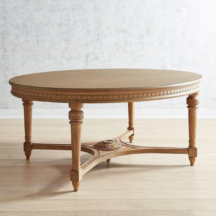 Magnolia Home English Country Wheat Oval Dining Table