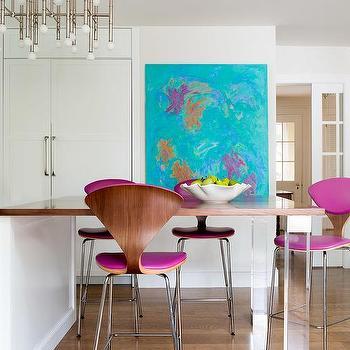 Pleasant Fuchsia Kitchen Counter Stools Design Ideas Creativecarmelina Interior Chair Design Creativecarmelinacom