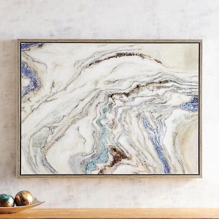 framed agate slices.htm quiet ocean blue gray geode art  quiet ocean blue gray geode art