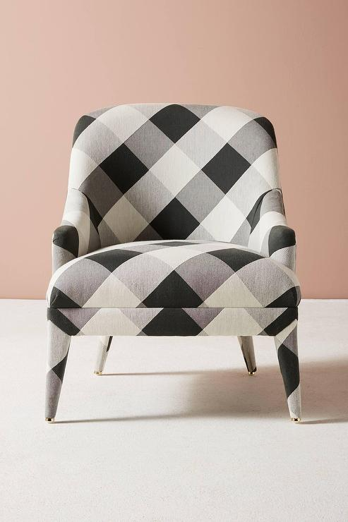 Astounding Buffalo Plaid Blue Chair Products Bookmarks Design Dailytribune Chair Design For Home Dailytribuneorg
