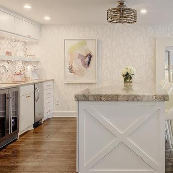 Kitchen Island Under Ceiling Fan Design Ideas