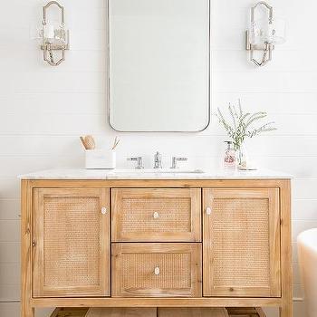 Seeded Glass Bathroom Sconces Design Ideas