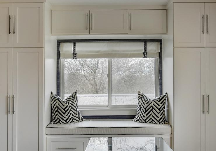 Fine Built In Closet Window Seat Framed By Cabinets Uwap Interior Chair Design Uwaporg