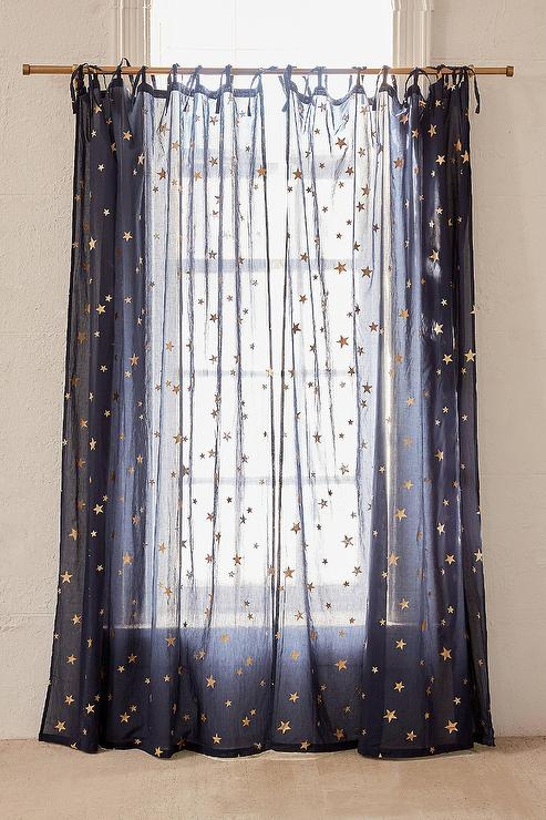 Solid Teal Metallic Window Curtain Panel