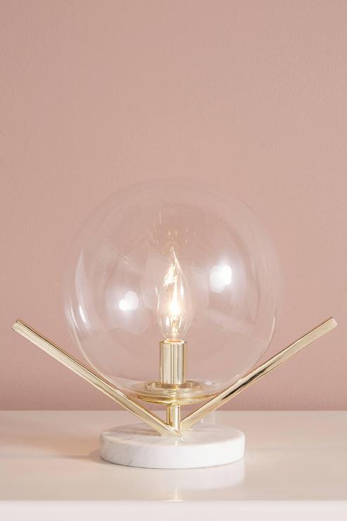 Bell Jar Glass Table Lamp