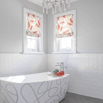 Painted Freestanding Bathtub