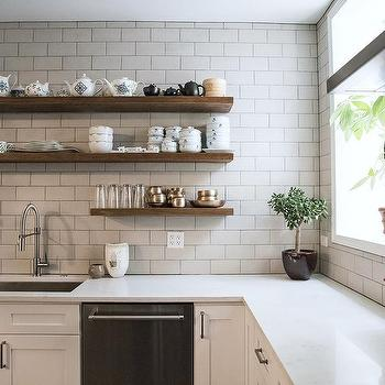 Wooden Kitchen Shelves Design Ideas