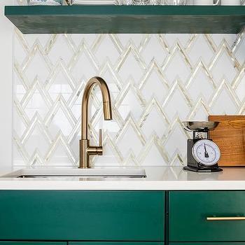 Hunter Green Kitchen Cabinets Design Ideas