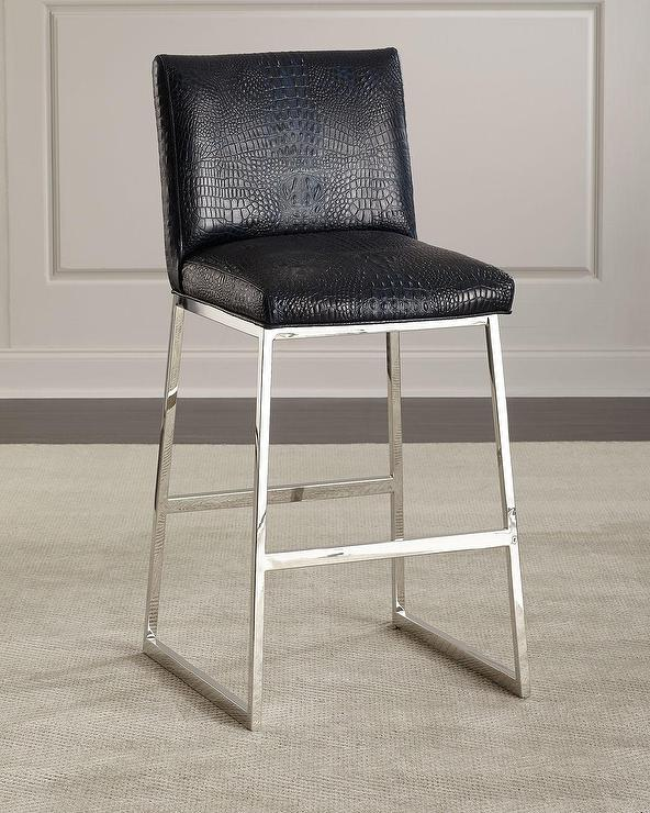 Surprising Arya Chrome X Frame Accent Stool Caraccident5 Cool Chair Designs And Ideas Caraccident5Info