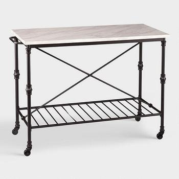 Kitchen Island - Look 4 Less and Steals and Deals.