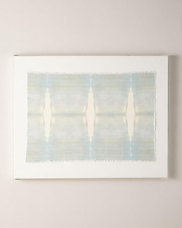 Acrylic Box Frames Refuge Linen Textile
