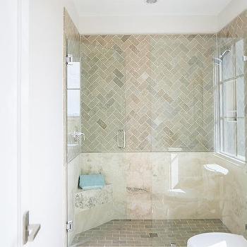 Cream Bathroom Floor Tiles Design Ideas