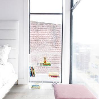 Acrylic House Shaped Bookcase