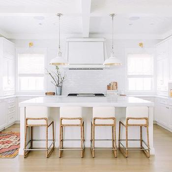U Shaped Kitchen Black Rattan Counter Stools Design Ideas on foyer rug ideas, dining room rug ideas, kitchen cabinet hardware ideas, small kitchen rug ideas,