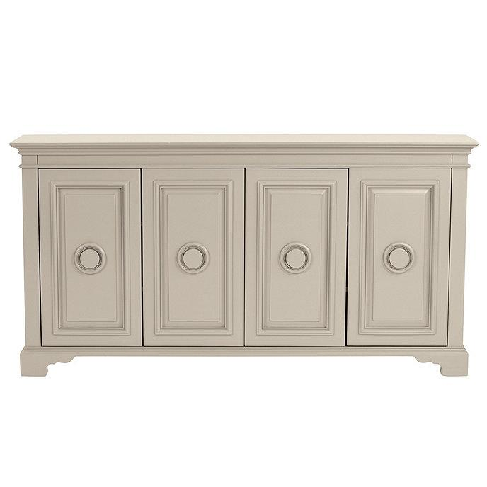 Marietta Taupe Paneled Doors Wood Console  sc 1 st  Decorpad & Taupe Paneled Doors Wood Console