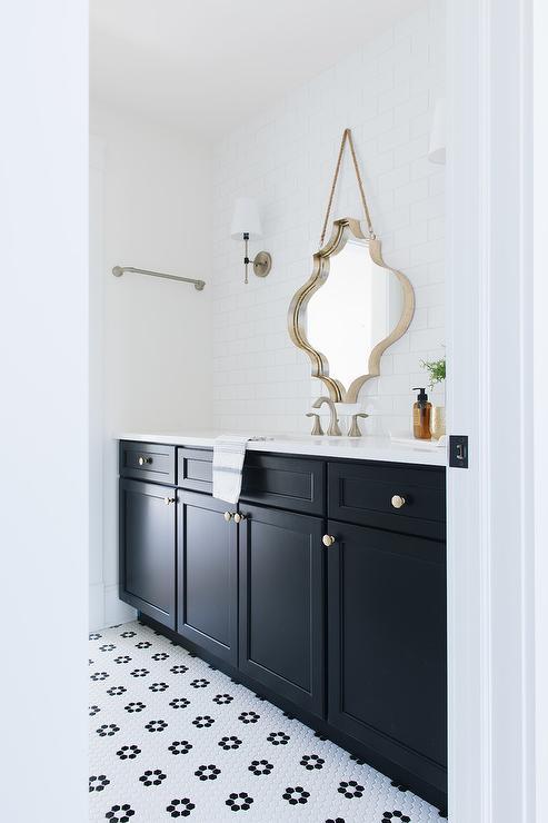 Black White Silver Bathroom Design Ideas, Black And Silver Bathroom