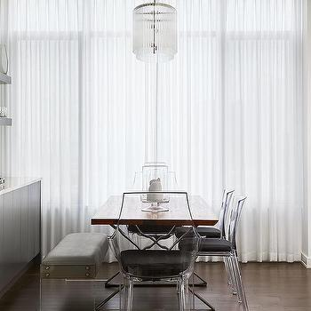 Peachy Acrylic Dining Bench Design Ideas Gmtry Best Dining Table And Chair Ideas Images Gmtryco