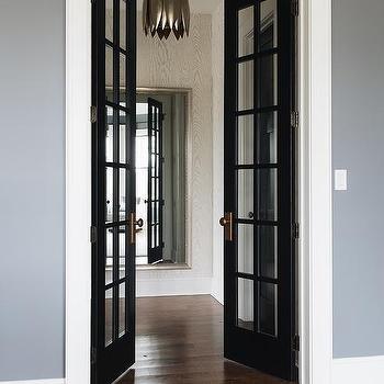 Black Front Doors Design Ideas