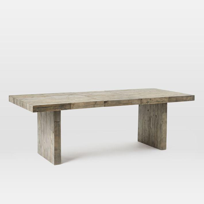 f0f39421802 Emmerson Reclaimed Stone Gray Wood Dining Table