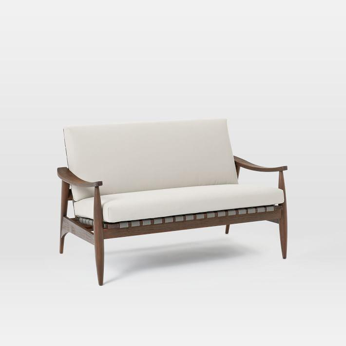 sofa teak furniture loveseat diagon wood