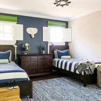 Blue Green Brown Boys Bedroom Colors Design Ideas