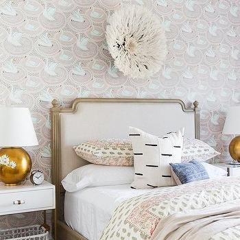 Pink Swan Wallpaper Design Ideas