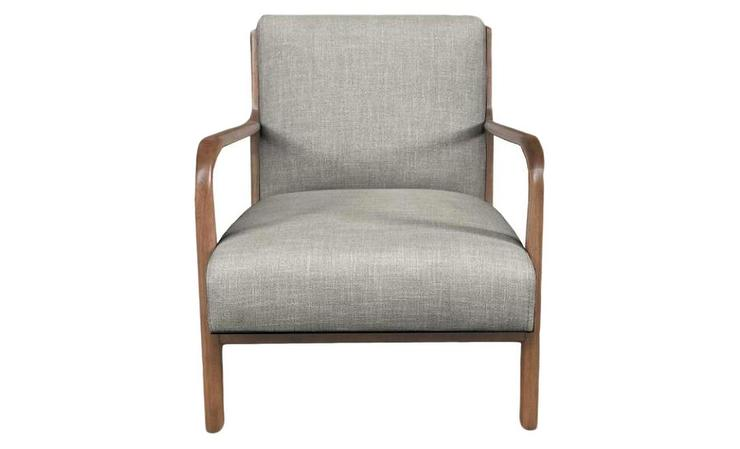 Excellent Project 62 Peoria Gray Linen Wood Arm Chair Evergreenethics Interior Chair Design Evergreenethicsorg