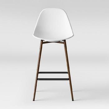 Threshold Hampden White Counter Stool