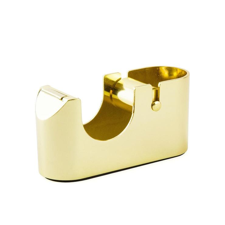Russell And Hazel Acrylic Tape Dispenser I Office Luxe