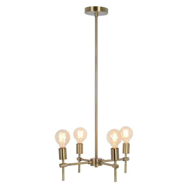 Modern Contemporary Cream Pendant Light