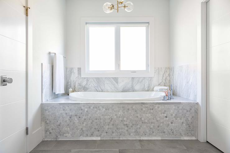 Marble Drop In Tub Surrounds Design Ideas