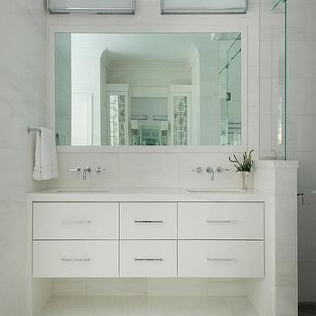 Floating Bath Vanity With 6 Drawers Design Ideas