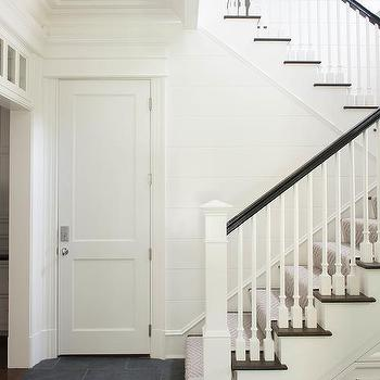 Superbe Hicks Pendant In Front Of Staircase