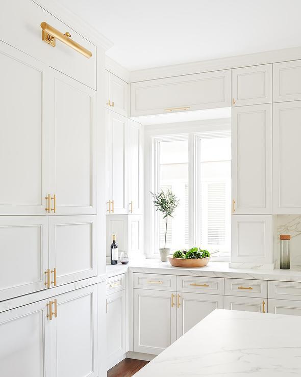 Brass Kitchen Cabinet Pulls Design Ideas
