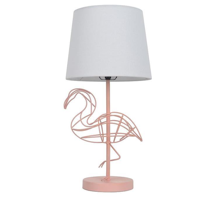 Pillowfort pink flamingo wire figural table lamp keyboard keysfo Gallery
