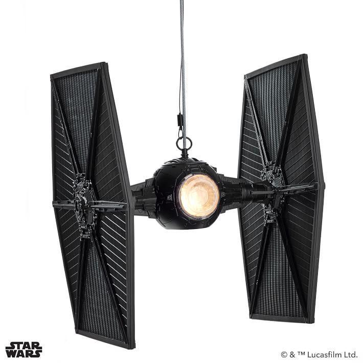 Star Wars Black Tie Fighter Pendant Light