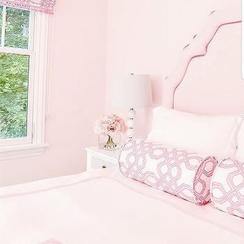 Light Pink Painted Bedroom Walls Design Ideas