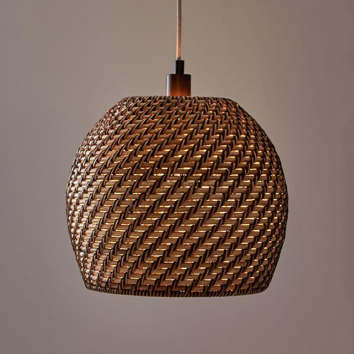 Missoni Black Diamond Basket Pendant