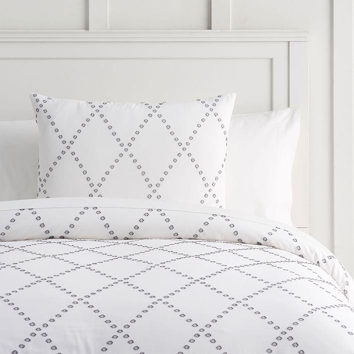 Libeco Organic Heritage White Striped Bedding