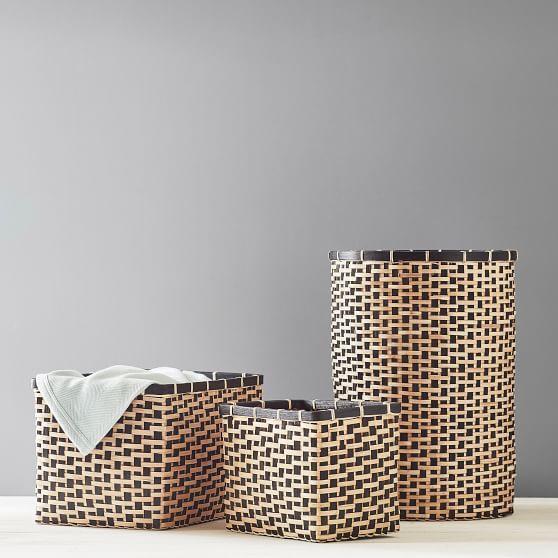 Kez Lidded Baskets Crate And Barrel