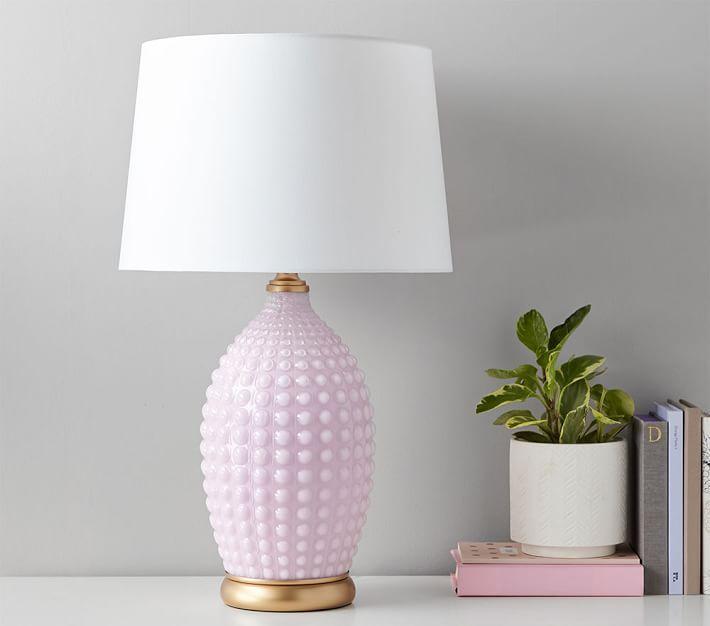 Emily Meritt Pink Fringe Table Lamp
