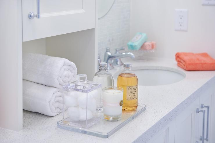 bathroom vanity tray decor.htm glass bath tray with candle transitional bathroom  glass bath tray with candle