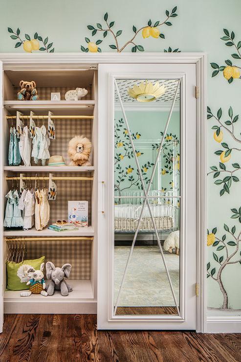 Nursery Armoire Transitional Nursery Farrow And Ball