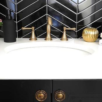 Black Herringbone Bathroom Tiles Black Herringbone Tiles