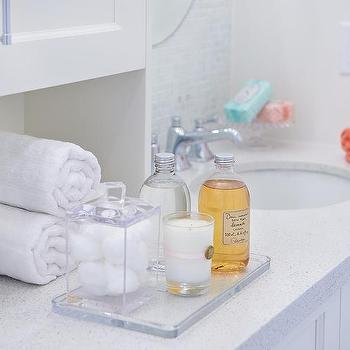 Lucite Serving Tray