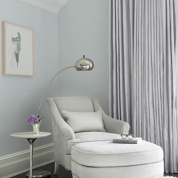 Corner Bedroom Chair And Ottoman Design Ideas