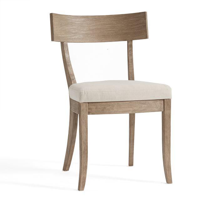 Bel Air Aqua Blue Dining Chair