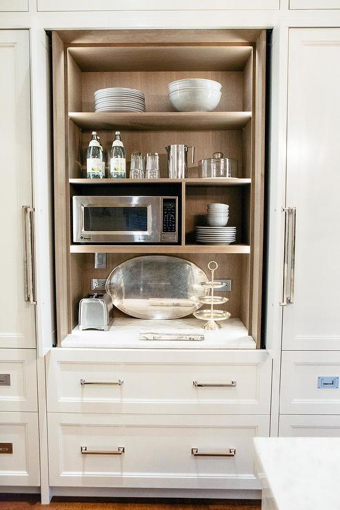 Retractable Kitchen Cabinet Doors Design Ideas