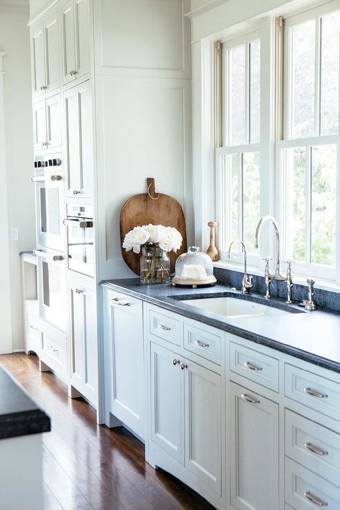 White And Black Cottage Kitchen Colors Design Ideas