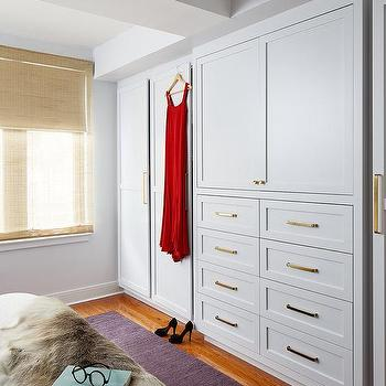 Bedroom Wardrobe Design Glass Front Door Closet Built-in Clothes Storage  Cabinet - Buy Bedroom Wardrobe Design,Glass Front Storage Cabinet,Modern ...